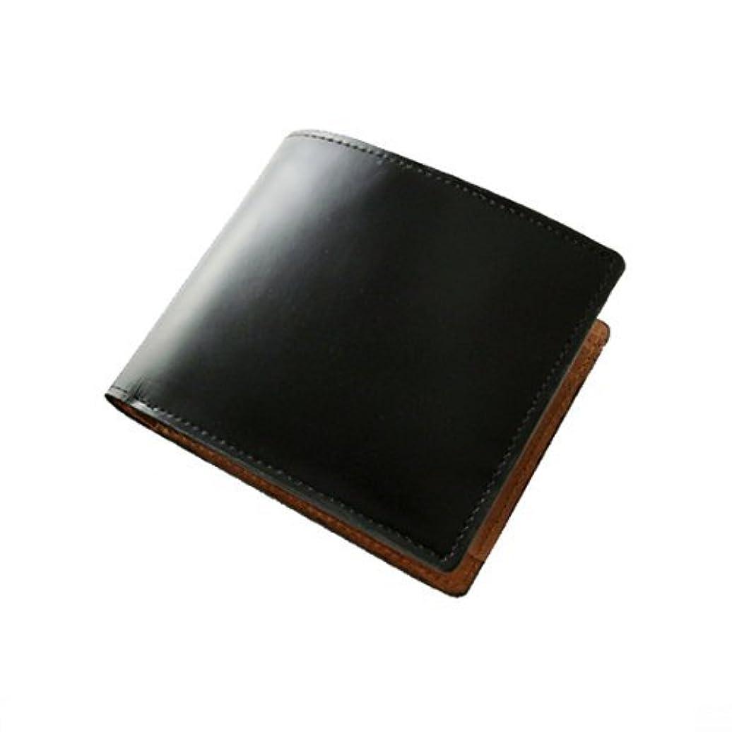 胃未接続ローマ人MH-911【MOMO】コードバン×バッファロー高級短財布