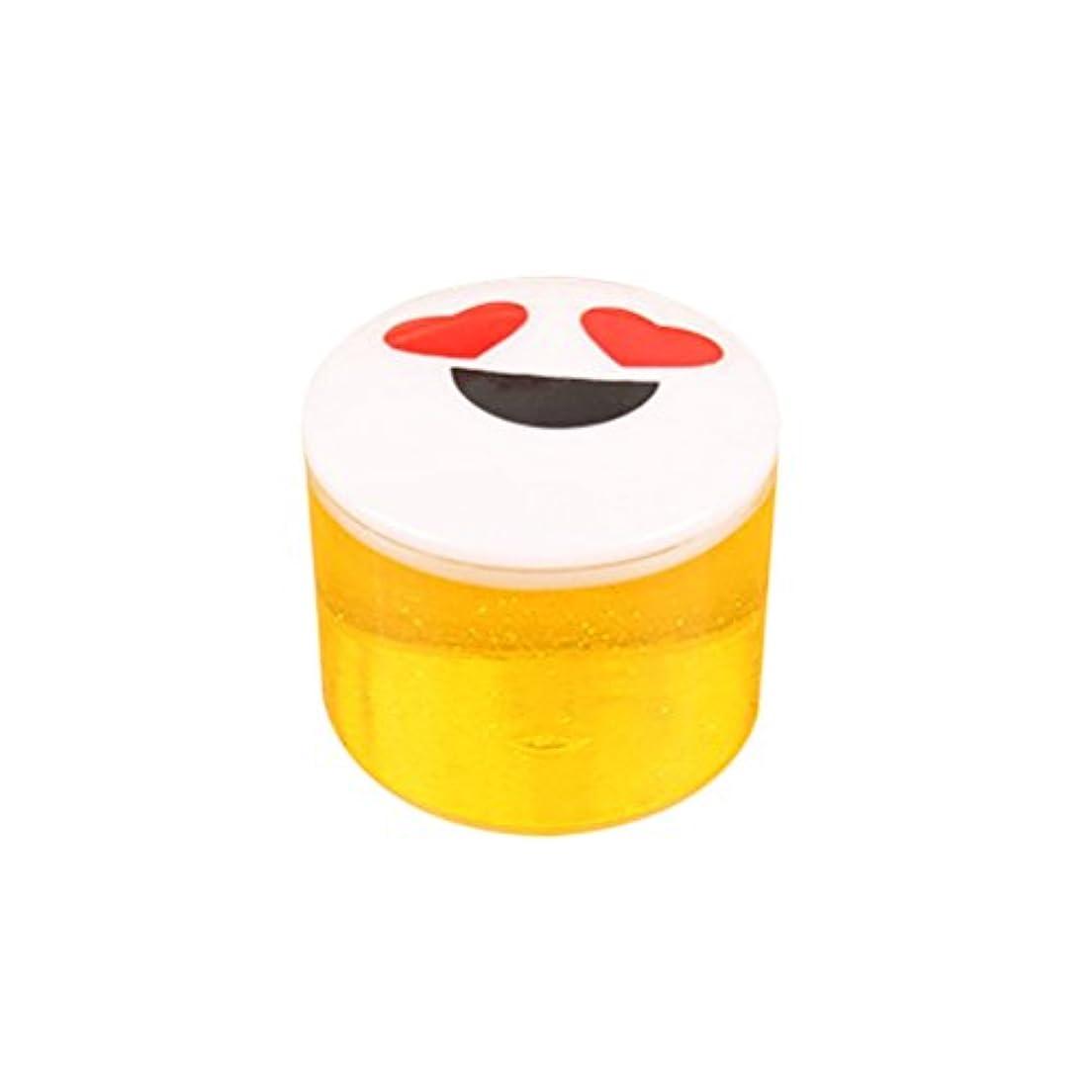 OUNONA 水晶粘土 DIY クリスタル泥 子供玩具(黄色とランダムパターン)