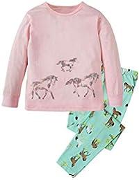 (ビメイゴー) Bmeigo パジャマ キッズ 子供服 女の子 男の子 ルームウェア 寝間着 長袖 綿 恐竜柄 動物柄 部屋着 上下セット 女児 男児 幼児服 ベビー 柔らかい 可愛い 快適 全9タイプ