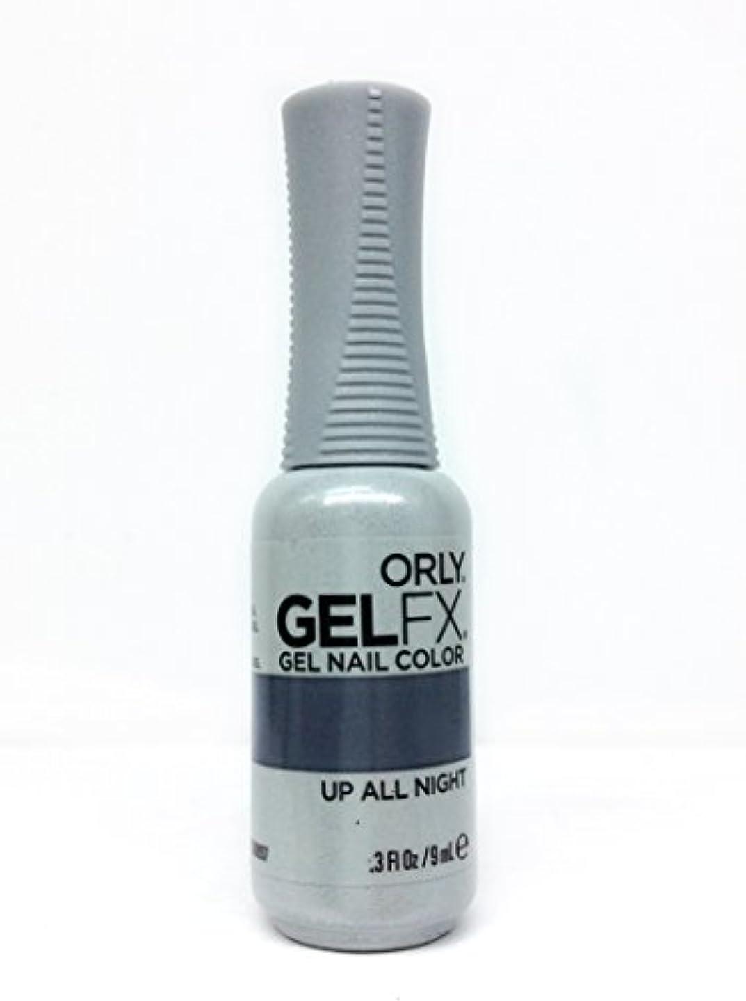 また勃起宿るOrly GelFX Gel Polish - Up All Night - 0.3oz / 9ml