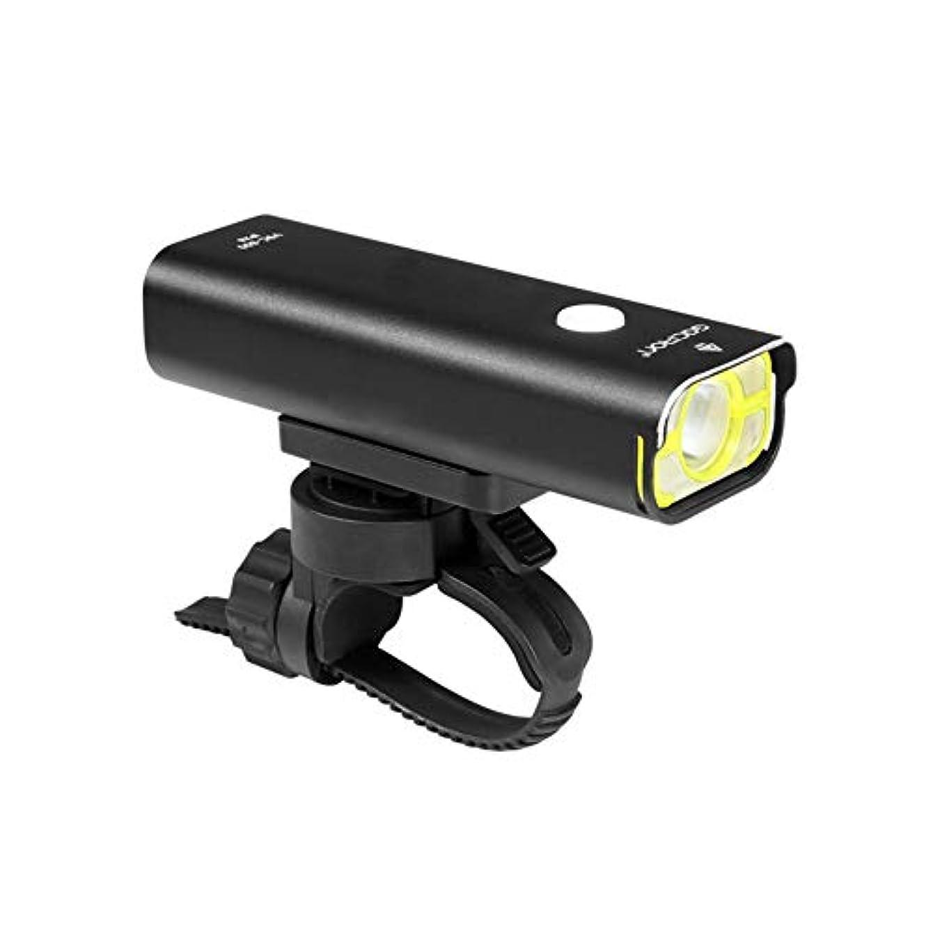 勤勉メンダシティ布自転車ライト 防水LED USB充電式 800ルーメン 軽量 アウトドア サイクルライトセット