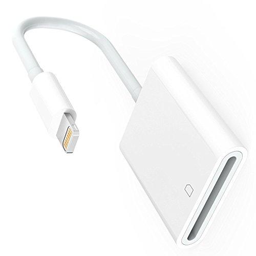 iPhone iPad 専用 Lightning SDカードカメラリーダー iPad iPhone iPhone X/8 plus/8/7/7plus/6/6s/6s plus/5s 対応 高速な写真とビデオ転送 microメモリSDカードリーダー
