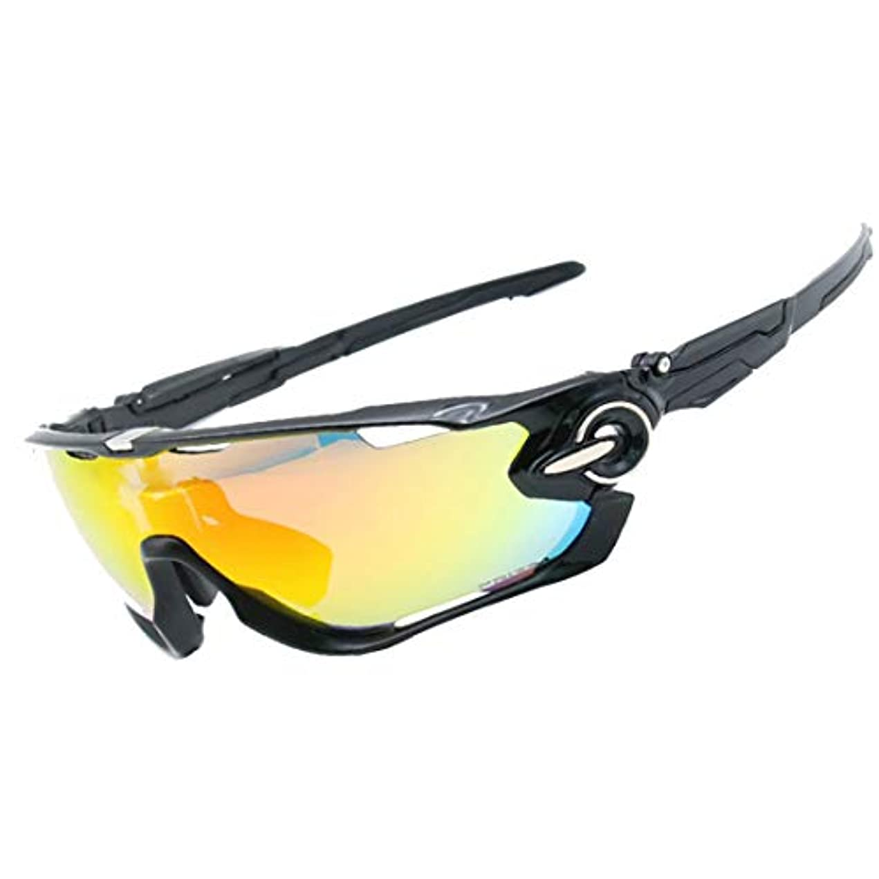 警報アーティファクト論理的Nekovan アウトドアサイクリングの恋人に適した屋外用メガネ。 (色 : A001)
