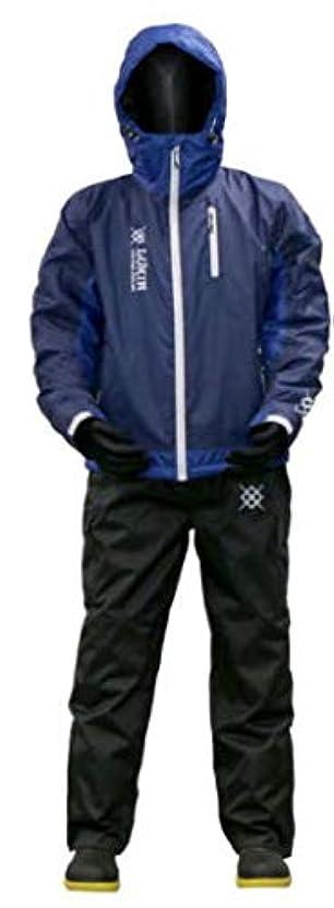 スクレーパー委託着服浜田商会 2019 防水防寒ウィンタースーツ WBA1905 ブルーネイビー LL