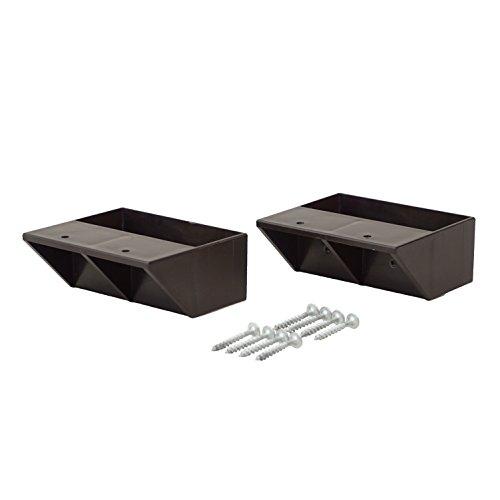 RoomClip商品情報 - ラブリコ DIY収納パーツ 2×4棚受シングル ブロンズ DXB-2