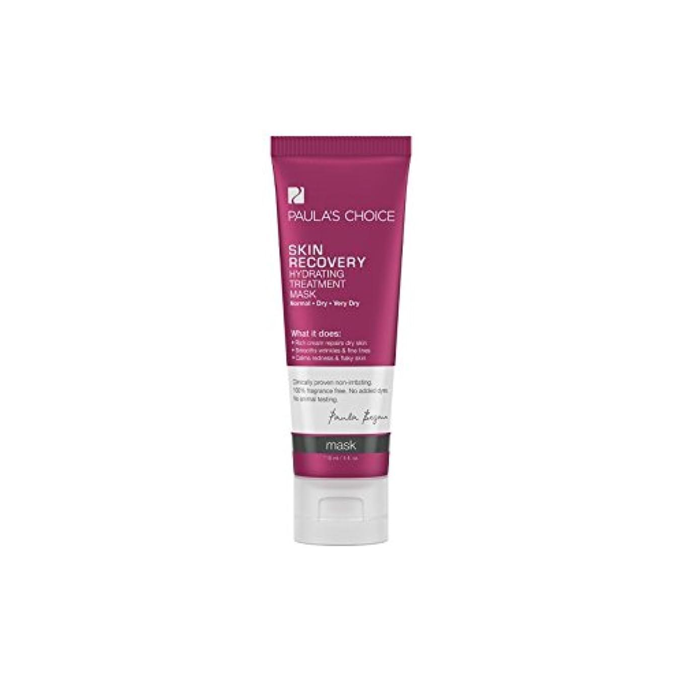 なる緩めるベリポーラチョイスの肌の回復水和処理マスク(118ミリリットル) x2 - Paula's Choice Skin Recovery Hydrating Treatment Mask (118ml) (Pack of 2)...