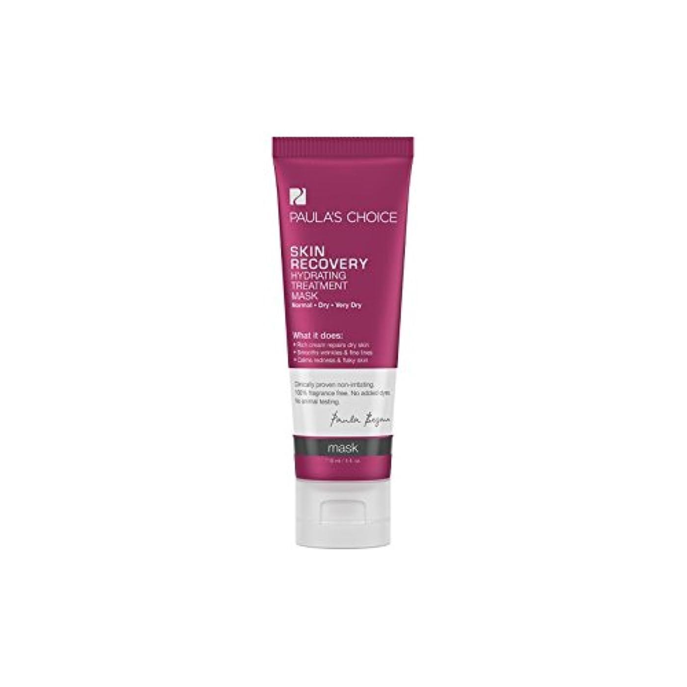 ハント郵便屋さん出口Paula's Choice Skin Recovery Hydrating Treatment Mask (118ml) (Pack of 6) - ポーラチョイスの肌の回復水和処理マスク(118ミリリットル) x6...
