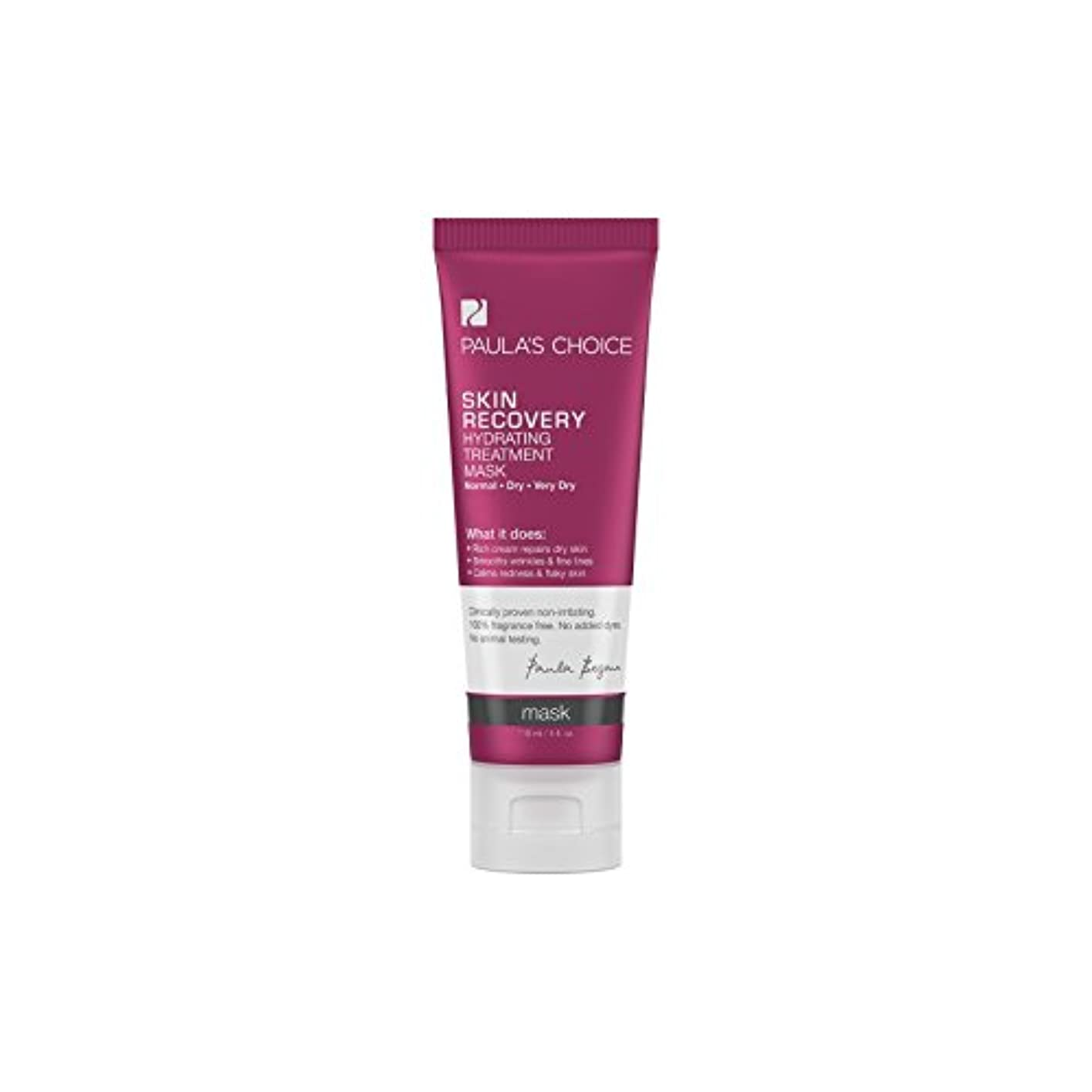 光の弾性知らせるポーラチョイスの肌の回復水和処理マスク(118ミリリットル) x4 - Paula's Choice Skin Recovery Hydrating Treatment Mask (118ml) (Pack of 4)...