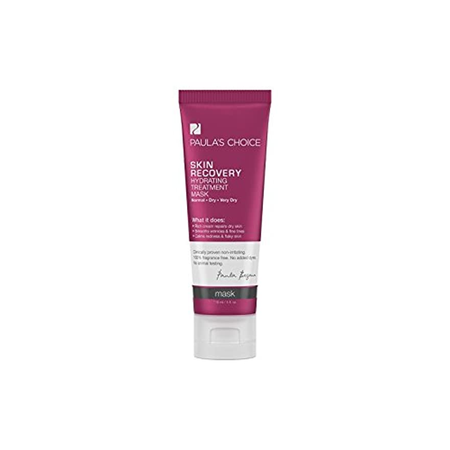 独特の噴水サポートポーラチョイスの肌の回復水和処理マスク(118ミリリットル) x2 - Paula's Choice Skin Recovery Hydrating Treatment Mask (118ml) (Pack of 2)...