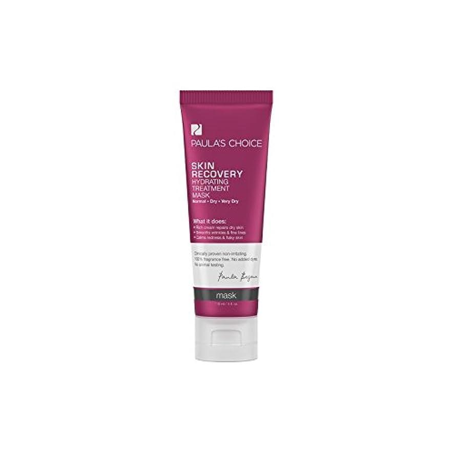 憲法ホテルパケットPaula's Choice Skin Recovery Hydrating Treatment Mask (118ml) (Pack of 6) - ポーラチョイスの肌の回復水和処理マスク(118ミリリットル) x6...
