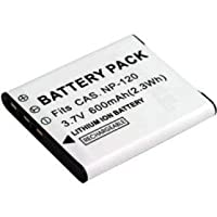 互換Liイオン充電式バッテリーパックfor Digitalカメラ/ビデオビデオカメラモデル: Casio NP - 120np120