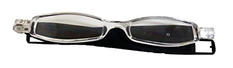 縁石非効率的なスナッチエニックス 老眼鏡 クルックグレー CLK27-1 +1.50