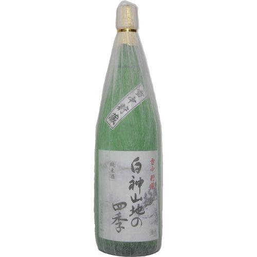 純米酒 雪中貯蔵 白神山地の四季 1800ml