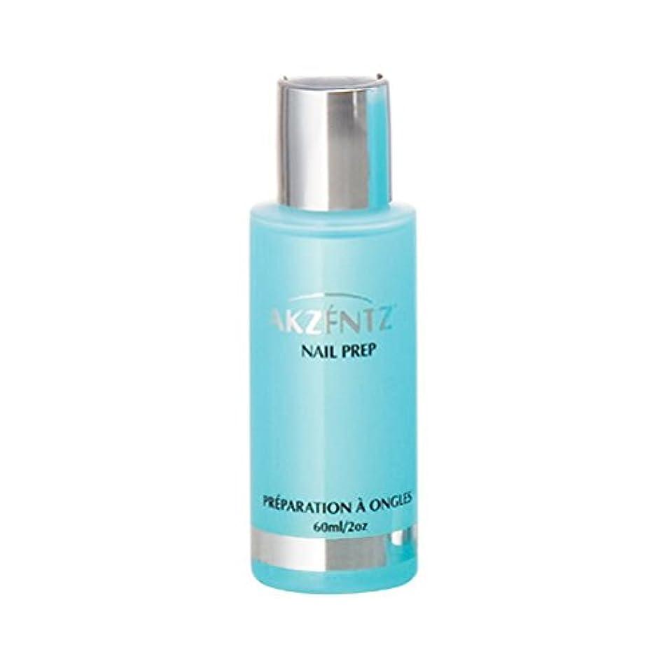 崇拝します化粧処理するAKZENTZ ネイルプレップ 60ml 水分・油分を除去するプレボンド