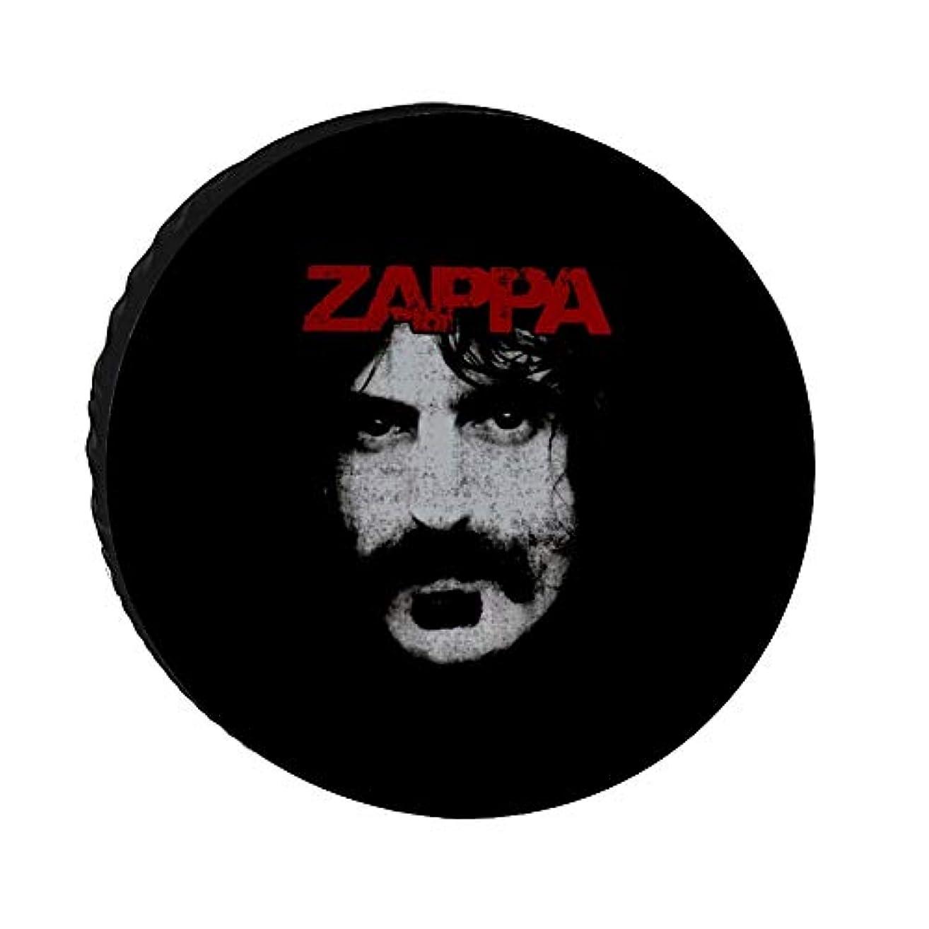 番目寄稿者摂氏Oxford Cloth Tire Cover フランクザッパ Frank Zappa オックスフォード布タイヤカバースペアホイール防塵タイヤカバージープトレーラーSUVトラックトレーラーアクセサリーホイールカバー15インチ