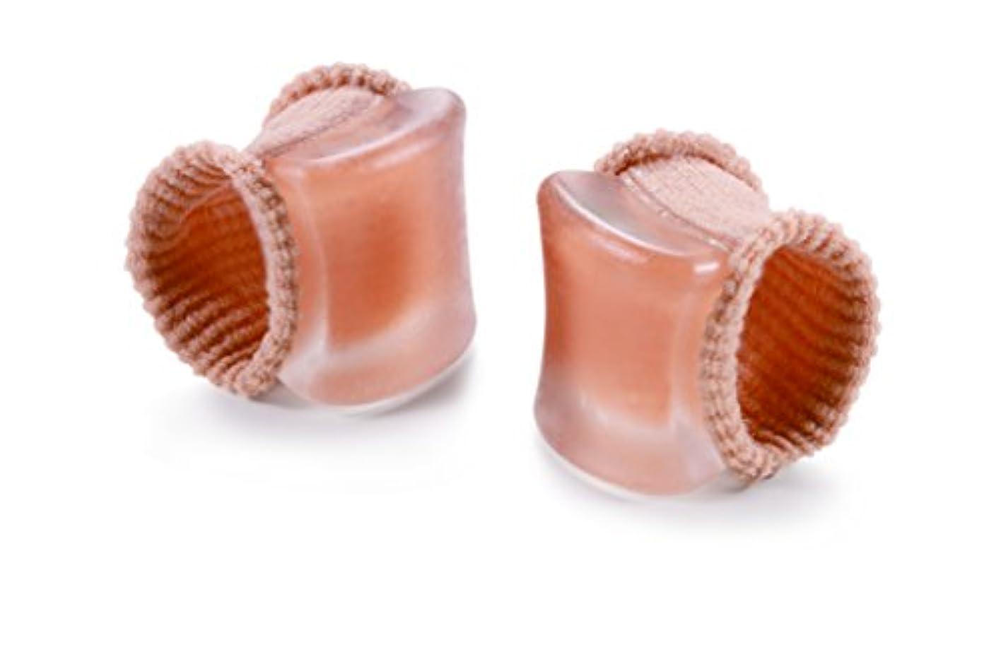 バルブ一過性毎日やわらゲル外反母趾足指サック1足