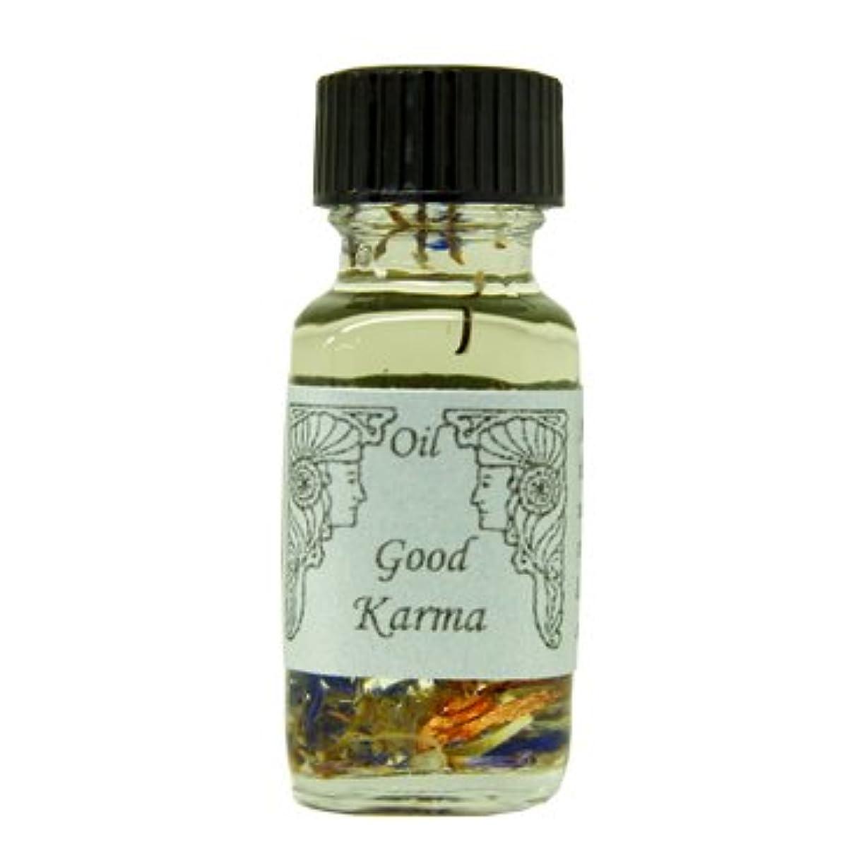 圧縮された指紋クラックポットアンシェントメモリーオイル グッドカルマ (よいカルマを呼ぶ) 15ml (Ancient Memory Oils)