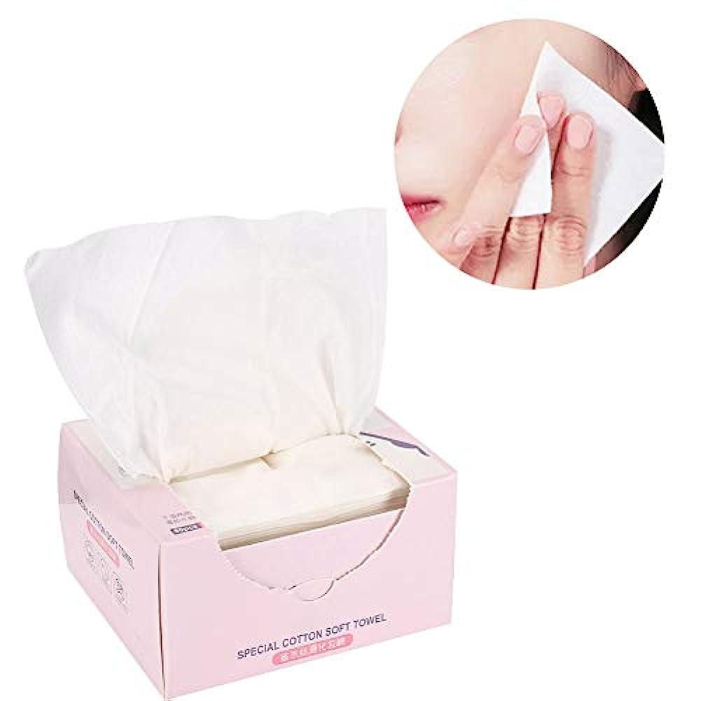 妨げるエンゲージメント誰も80枚入り 節水 綿パッド 柔らかい 滑らか 不織布 メイク落とし コットンパッド 化粧品ツール スキンケア クリーニング