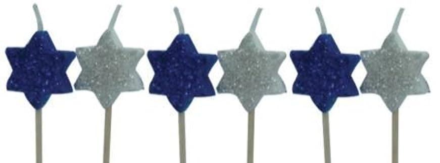 公園職業富Sassafras Enterprises 2300XSST Star of David Party Candles