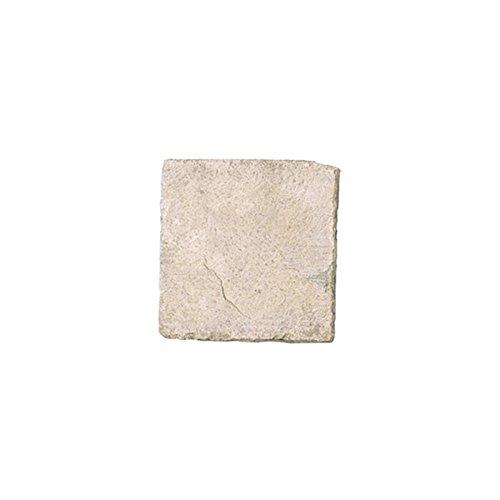 敷石 ステップストーン 飛石 踏み石 屋外床 コンクリート2次製品 イギリス フランス ストーンフレア ジロンデ 平板 W300×D300×H40 ライムストーン色 1枚単位