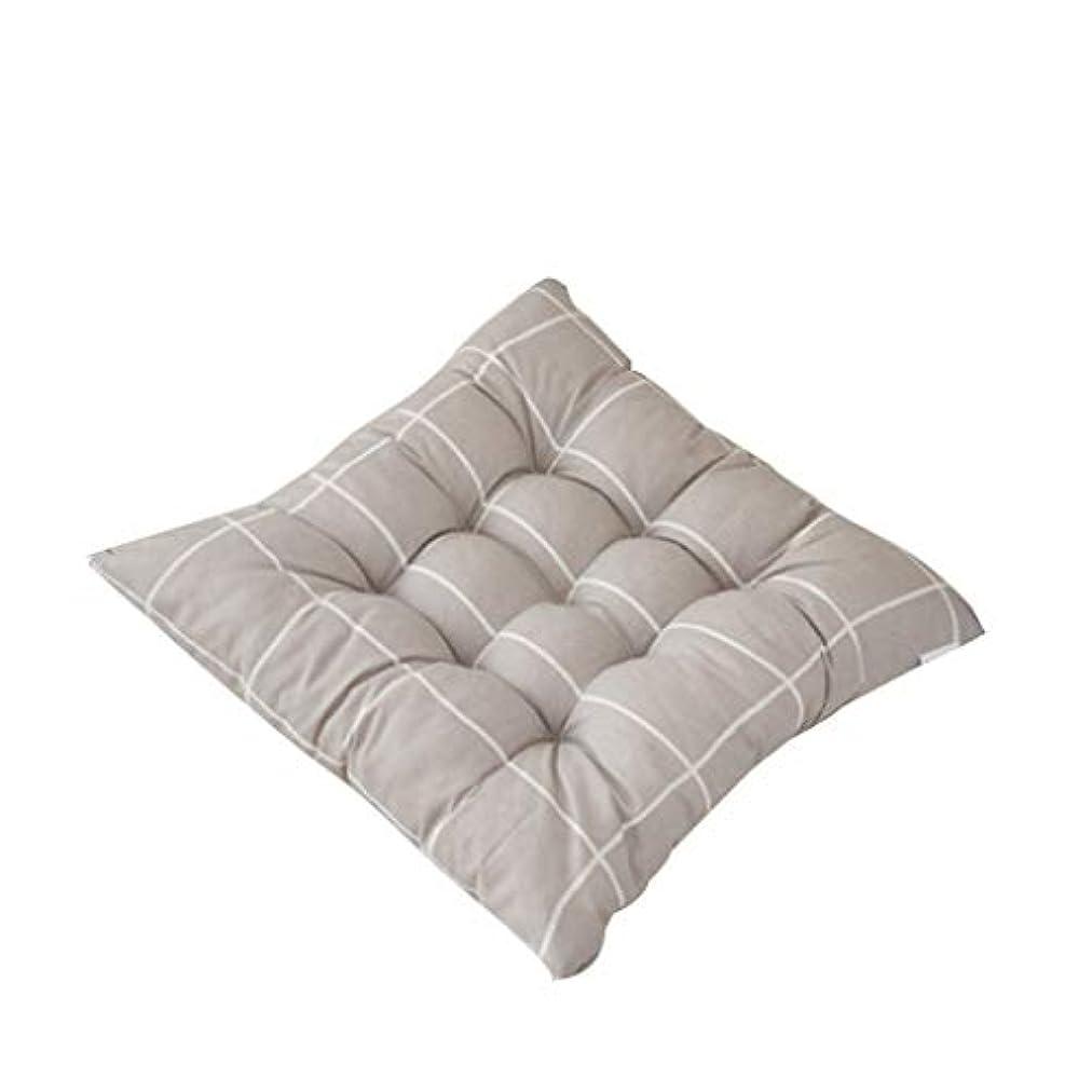 大きさ平均アレイLIFE 正方形の椅子パッド厚いシートクッションダイニングパティオホームオフィス屋内屋外ガーデンソファ臀部クッション 40 × 40 センチメートル クッション 椅子