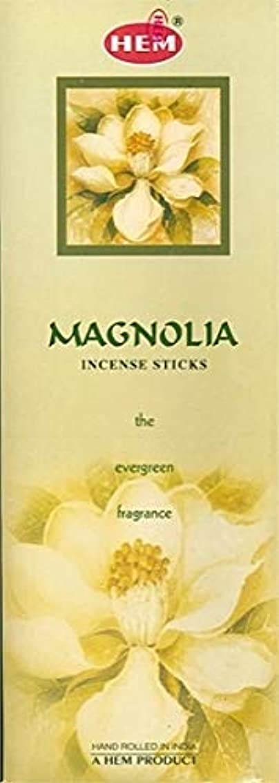 ホバー関数チューブHem Magnolia Incense Sticks (9.3 cm X 6.0 cm X 25.5cm, Black)