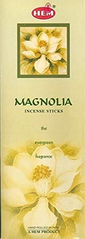 合意潜在的なバレエHem Magnolia Incense Sticks (9.3 cm X 6.0 cm X 25.5cm, Black)