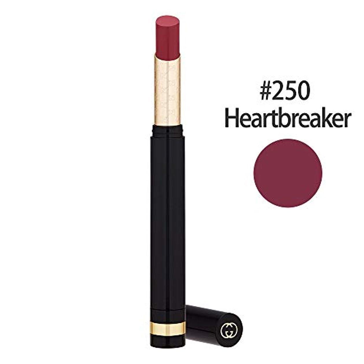 憂慮すべき砂漠工業化するグッチ(GUCCI) センシュアスディープマット リップスティック #250(Heartbreaker) 1.5g [並行輸入品]
