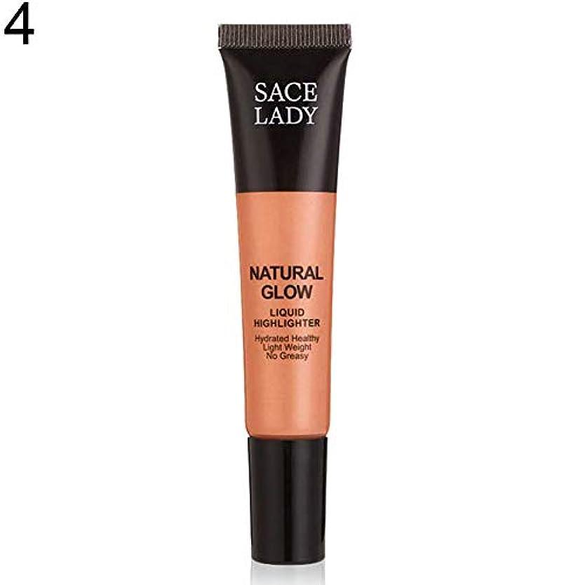 SACE LADY液体蛍光ペン水和非脂っこい化粧顔ブロンザー - 4#