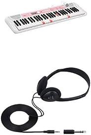 CASIO(カシオ) 61鍵盤 電子キーボード 光ナビゲーション LK-312+純正ヘッドホン 電子キーボード/デジタルピアノ用 CP-16