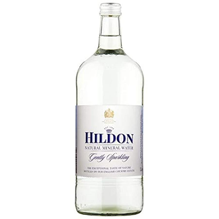 一過性クラックポットジャンクション[Hildon] Hildonナチュラルミネラルウォーターそっとガラスボトル1リットルスパークリング - Hildon Natural Mineral Water Gently Sparkling Glass Bottle...