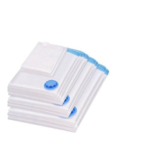 ふとん圧縮袋 ポンプ付き 10枚セット 衣類圧縮袋 布団圧縮袋 防虫、防湿、防塵、防カビ、防臭対策