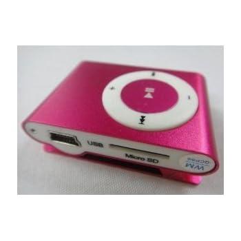 MP3プレーヤー スカイブルー (pink)