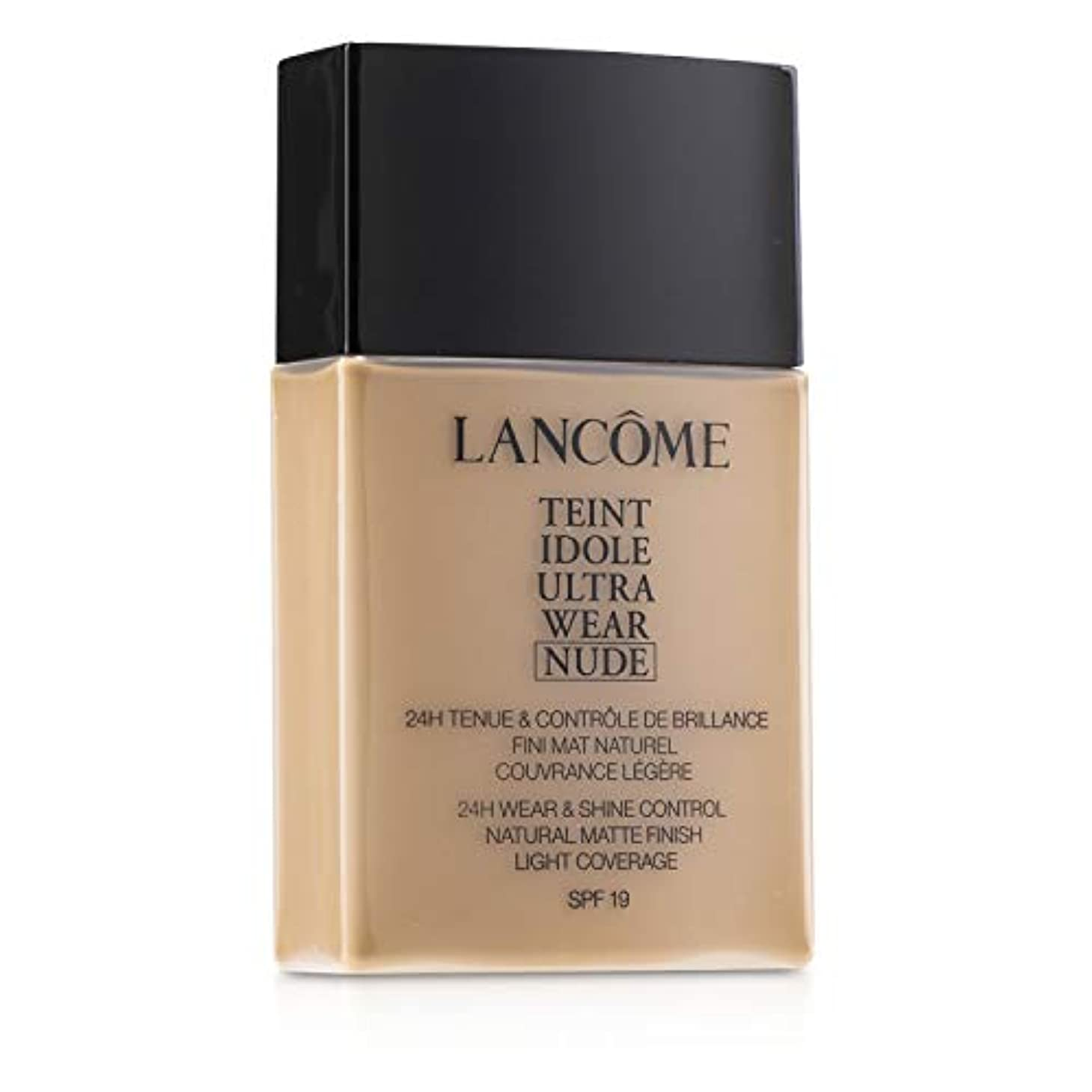行列手荷物汚すランコム Teint Idole Ultra Wear Nude Foundation SPF19 - # 055 Beige Ideal 40ml/1.3oz並行輸入品