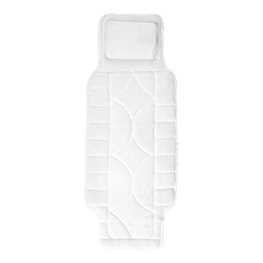 忠誠ペルセウスやけど10個の吸引カップが付いている浴室の枕フルボディスパ浴槽の枕マット