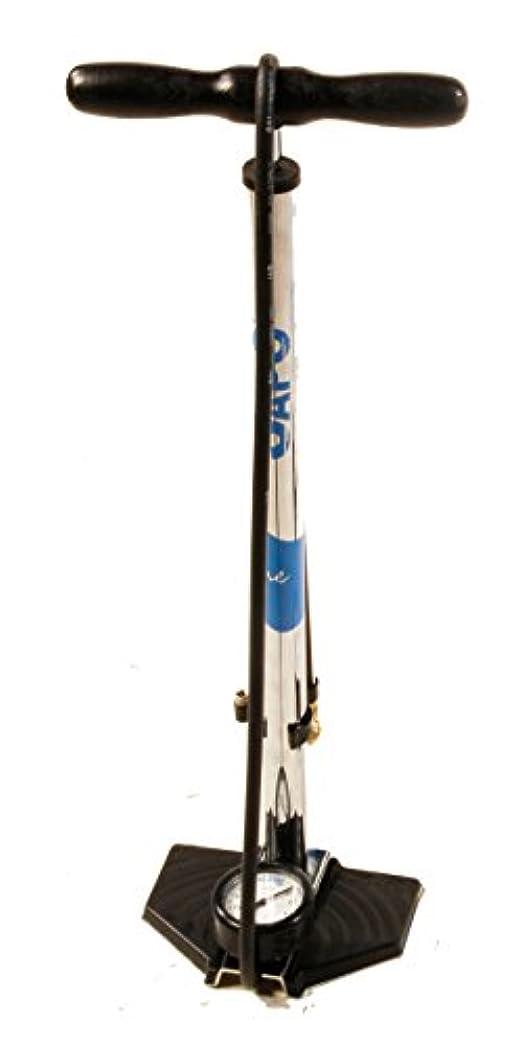 日付エイリアスシミュレートするSAPO ONE フロアポンプ (FV) ART 098 CP 米式バルブ付属 CP(クローム)/ウッド