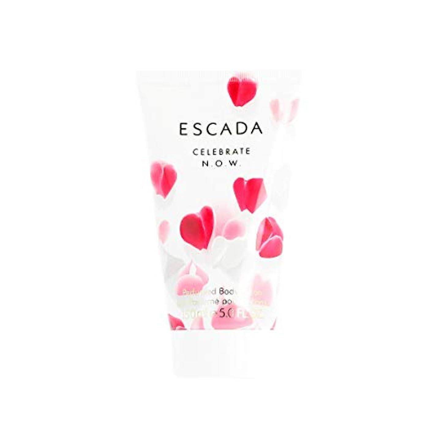 接続ジョージエリオット感情エスカーダ Celebrate N.O.W. Perfumed Body Lotion 150ml/5oz並行輸入品