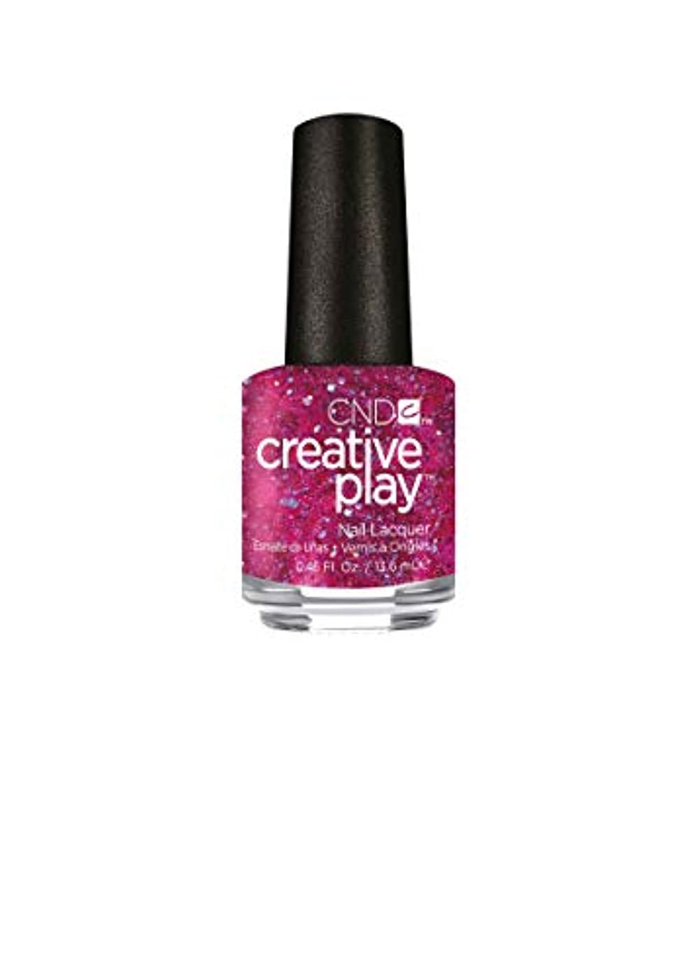 無秩序遮る振る舞いCND Creative Play Lacquer - Dazzleberry - 0.46oz / 13.6ml