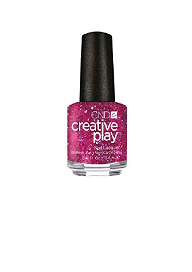 不確実著名な台無しにCND Creative Play Lacquer - Dazzleberry - 0.46oz / 13.6ml