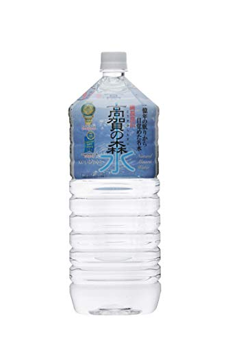 奥長良川名水 高賀の森水 ペット 2L×6本