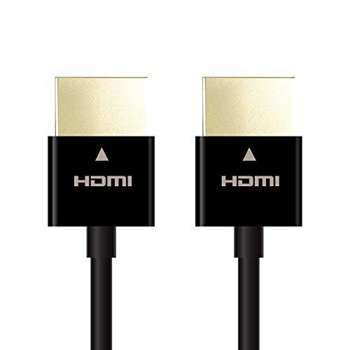 エレコム HDMIケーブル ハイスピード スーパースリム 0...