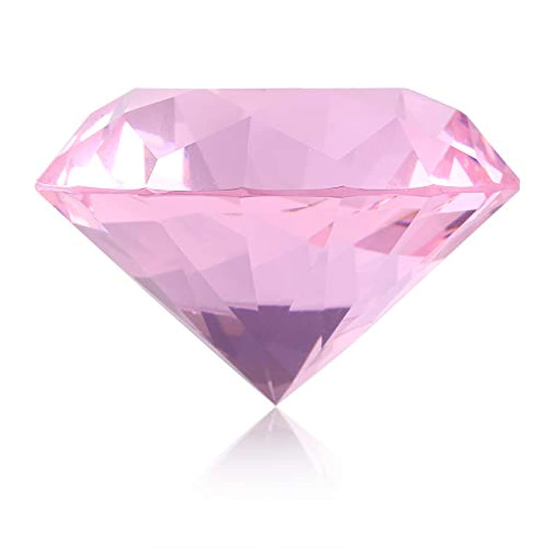 最大バルクカニネイルチップスタンド スタンドベース ネイルアートディスプレイ ガラス クリスタル ダイヤモンド 撮影道具 モデル ネイルチップホルダー (ピンク)