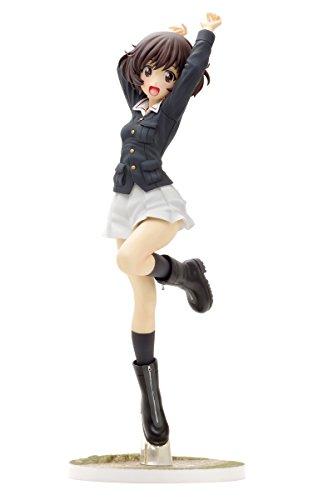 Dream Tech ガールズ & パンツァー 秋山 優花里 パンツァージャケットVer. 1/8スケール PVC製 塗装済み完成品 フィギュア