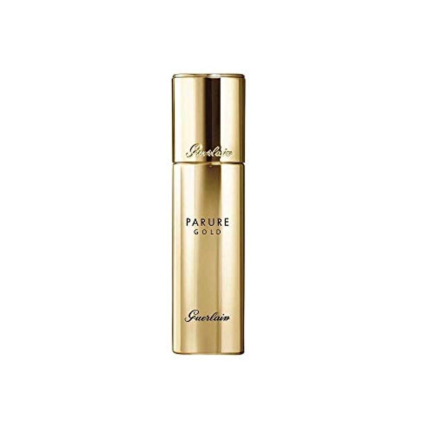 暗い締める関連するゲラン Parure Gold Rejuvenating Gold Radiance Foundation SPF 30 - # 05 Dark Beige 30ml/1oz並行輸入品
