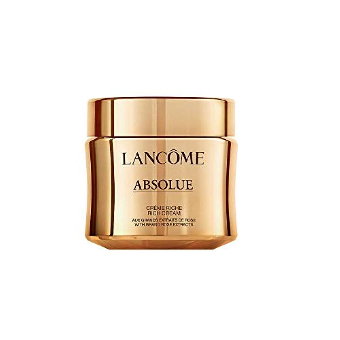 費やすペルー驚いたことにLancome Absolue Rich Cream ランコム アプソリュ リッチクリーム 60ml