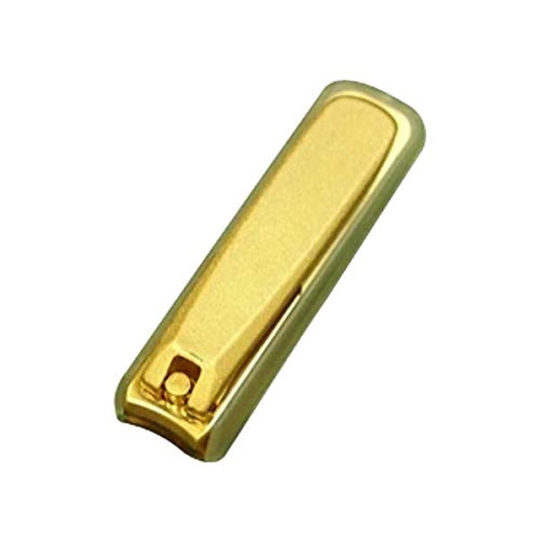 会話型寛容な重くするNIKKEN ニッケン刃物 ゴールドつめ切り LS-88