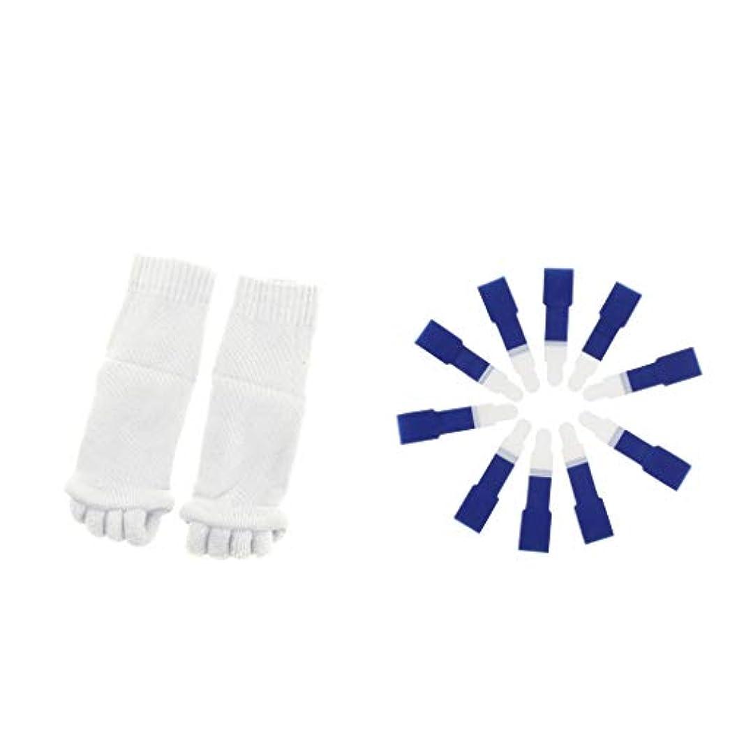 dailymall ヨガジムスポーツソックスと洗えるハンマーつま先セパレータースプリント包帯