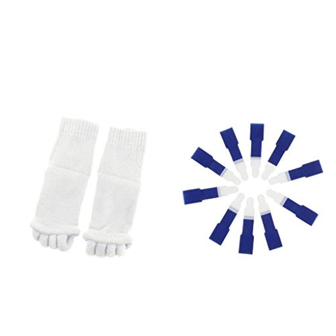 ウッズ贅沢なのぞき穴dailymall ヨガジムスポーツソックスと洗えるハンマーつま先セパレータースプリント包帯