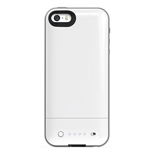 Mophie Juice Pack Air External Battery Case Made for iPhone 5/5s in White - MFi Approved