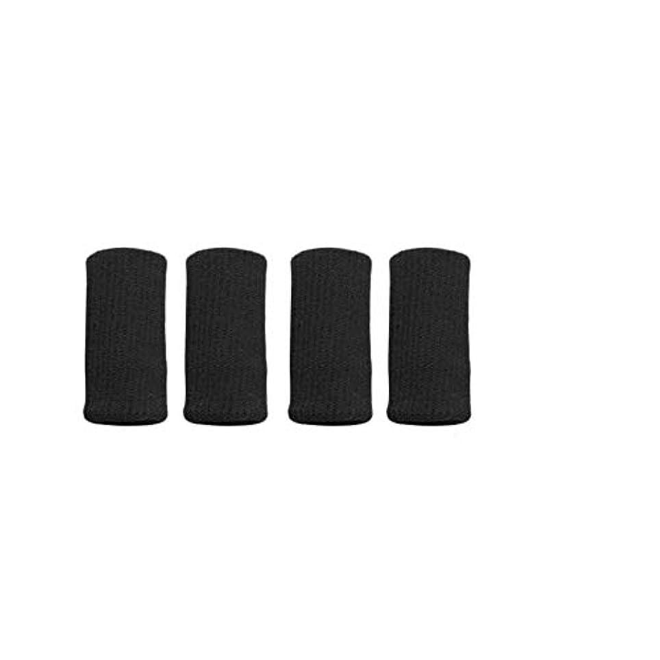 製造業活発カーフ1st market 指の袖はバスケットボールの腱炎のための伸縮性がある保護装置カバーを支えます